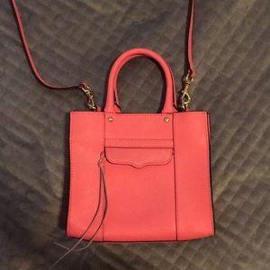 Rebecca Minkoff mini handbag in adorable pink!